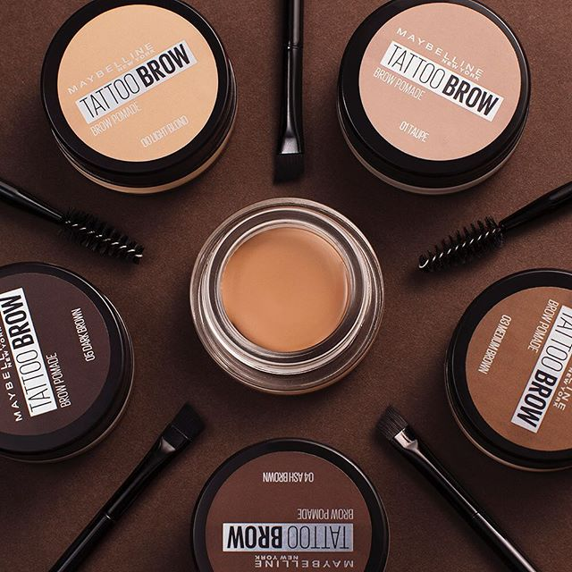 Are those really your brows if you're not wearing this NEW #tattoobrow brow pomade?!  This creamy formula gives you perfectly sculpted brows that last up to 24 hours! #mmybrows  Find your shade here! >> http://spr.ly/6011EO2vZpic.twitter.com/YfJR383x9y