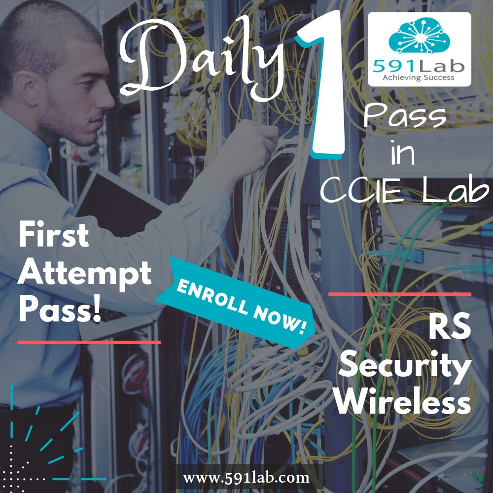 Amazing Start in 2019! Another Pass in CCIE Lab!