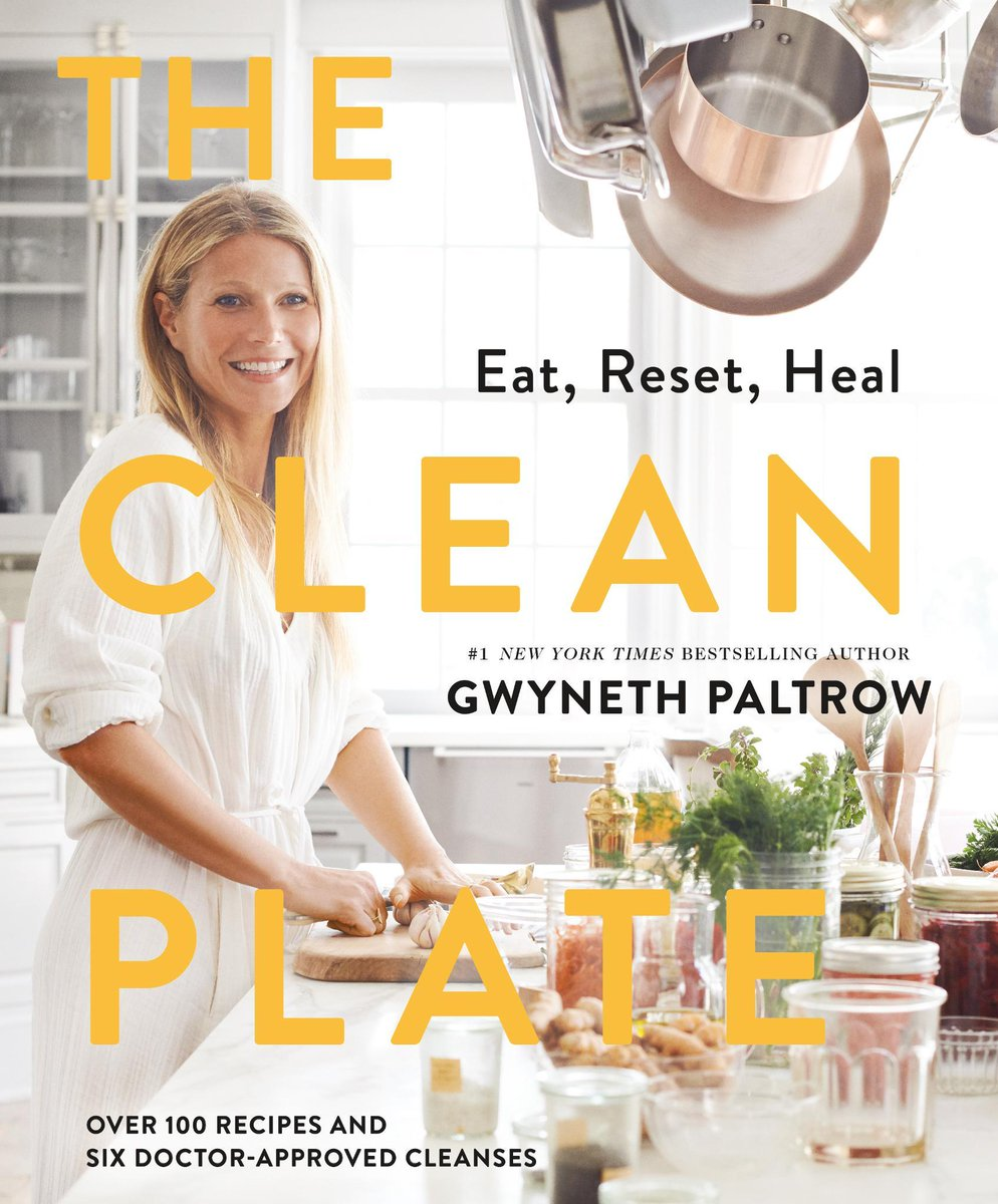 #LA! Meet @GwynethPaltrow this THURSDAY Jan 24 at 6:30pm! She will sign copies of her NEW book #TheCleanPlate. Get tickets: