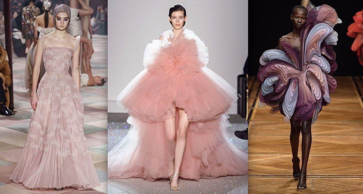 Scoprite gli abiti più spettacolari delle sfilate d'alta moda di Parigi. Una vera magia! https://t.co/kcuZ8SyRuo