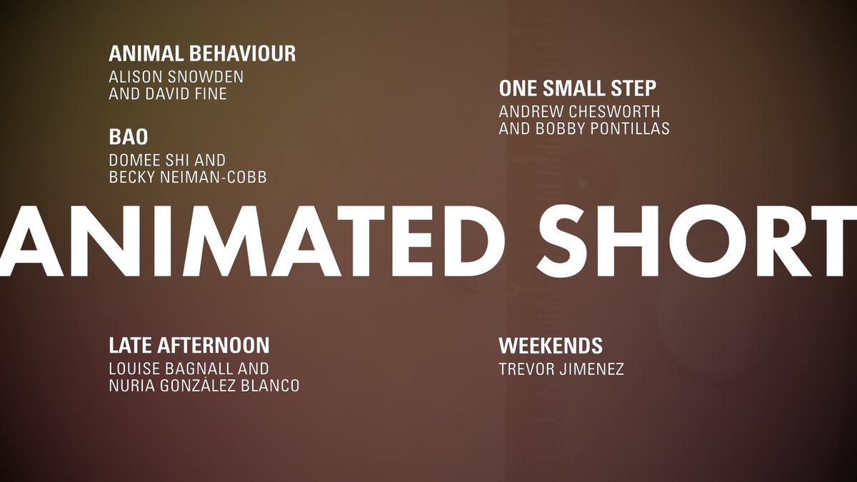 LOOK: Short Film - Animated nominees! #OscarNoms