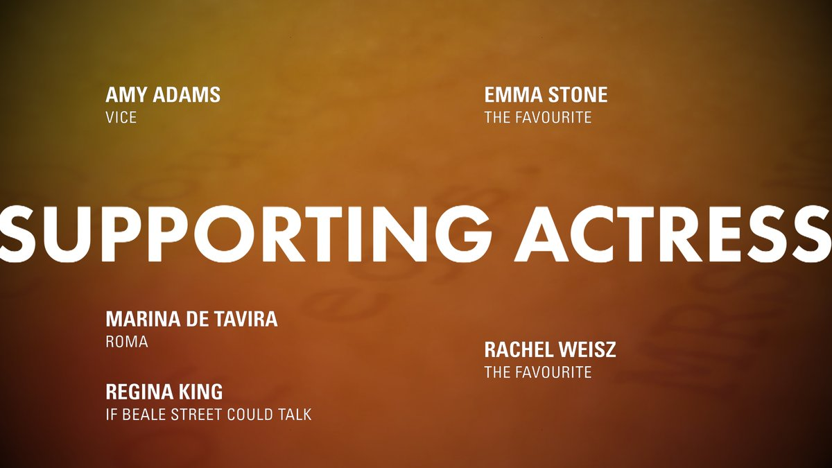 LOOK: Supporting Actress nominees! #OscarNoms