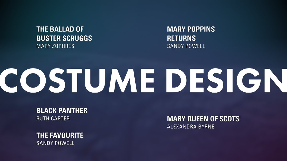 LOOK: Costume Design nominees #OscarNoms