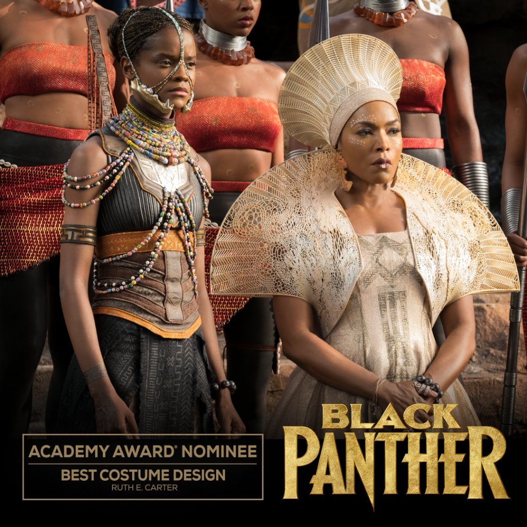 Congratulations to Marvel Studios' #BlackPanther on its Academy Awards nomination for Costume Design! #OscarNoms