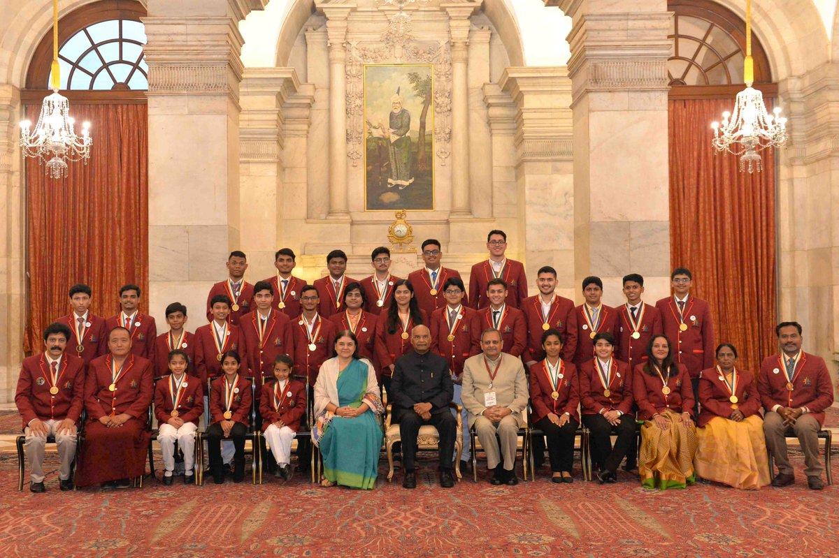 President Kovind confers PM Rashtriya Bal Puraskar 2019