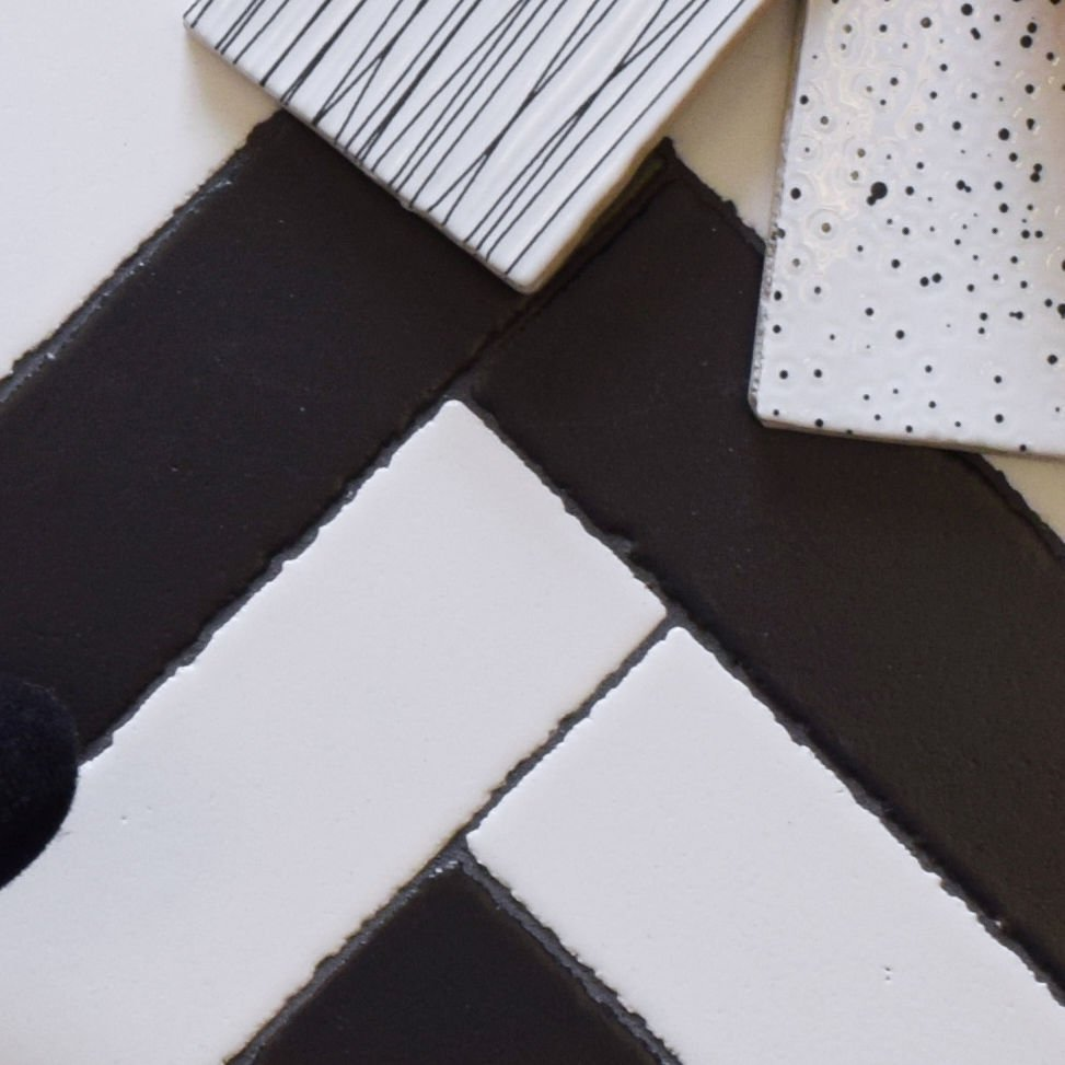 Fact or fiction: black and white tile never goes out of style. #blackandwhitetile #interiordesign