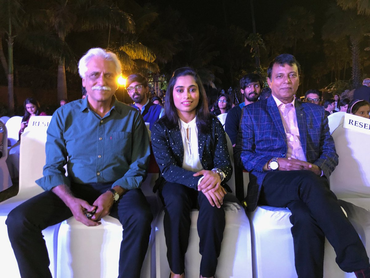 Star gymnast Dipa Karmakar & coach Bishweshwar Nandi await release of her autobiography, The Small Wonder, co-authored by Nandi, Digvijay Singh Deo and Vimal Mohan. Petite, winsome, and fiercely determined, Dipa has set her sights on a medal at the Tokyo Olympics