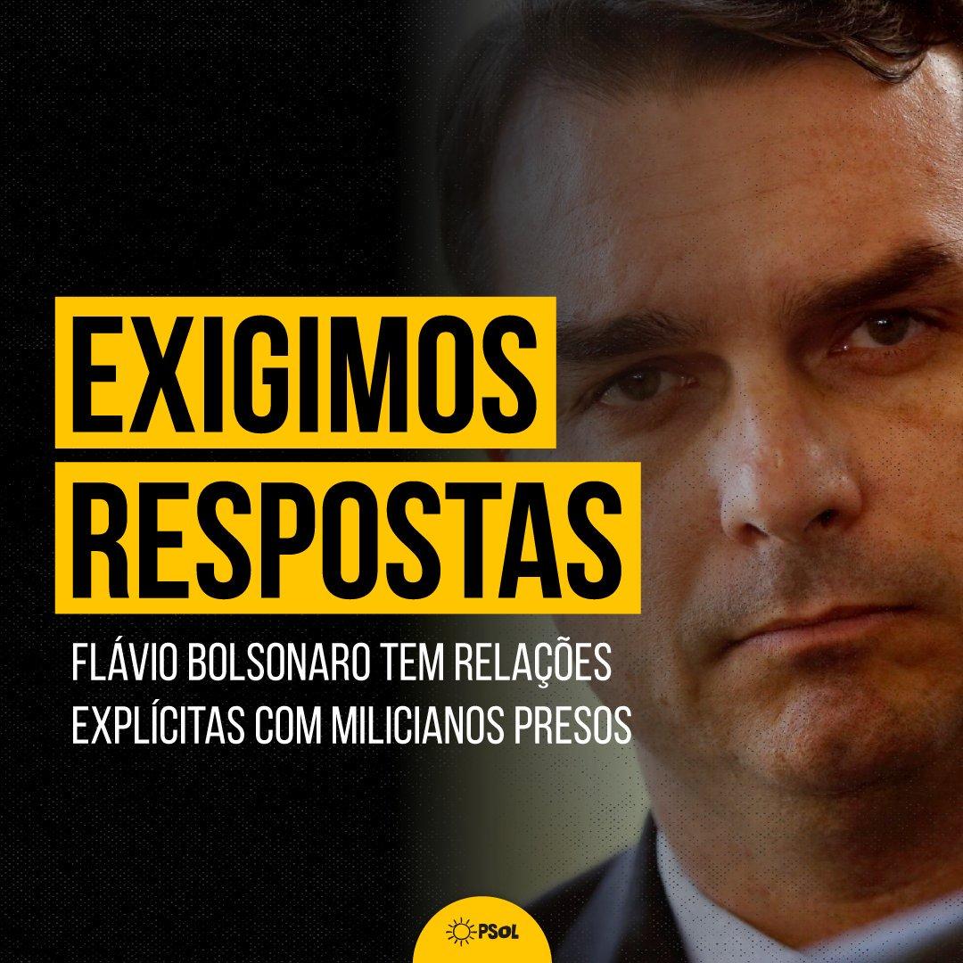 Cerco se fecha:  Flávio Bolsonaro homenageou suspeitos de participar do assassinato de Marielle. Miliciano foragido teve esposa e mãe lotadas em seu gabinete. Segundo o COAF a mãe do miliciano efetuou depósito na conta de Queiroz.  Violência, máfia e corrupção juntas.
