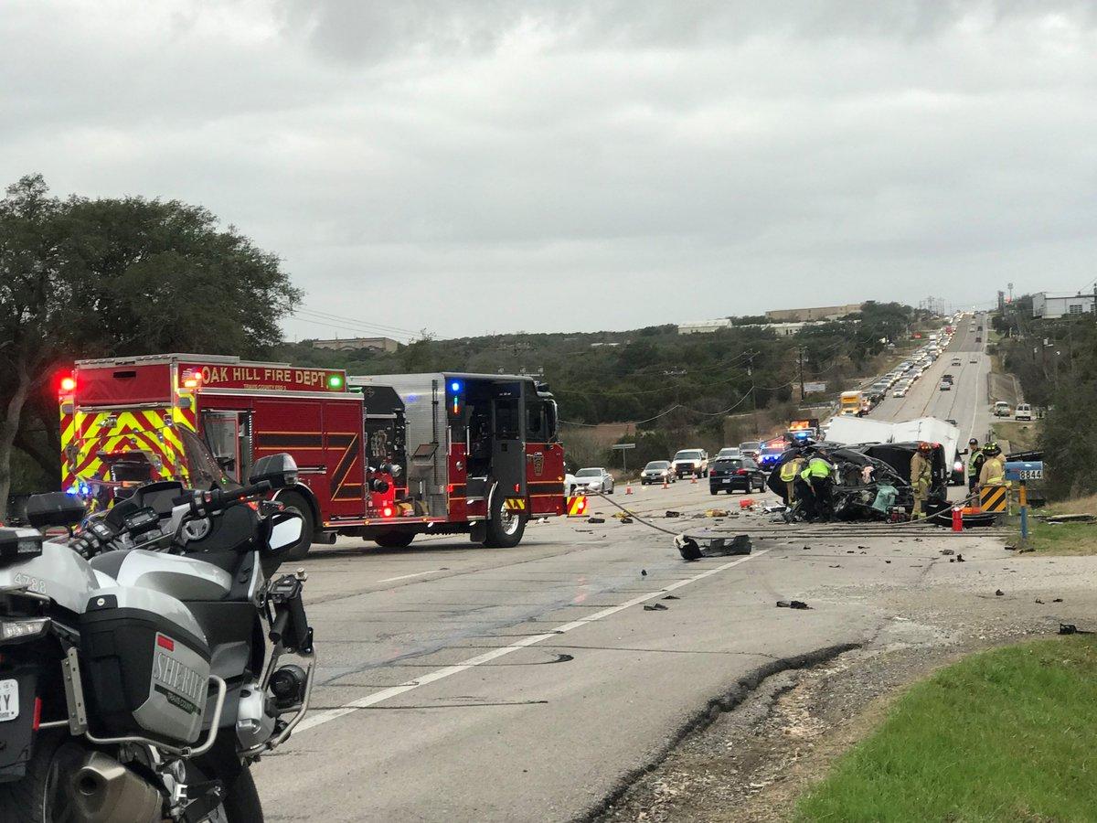 TRAFFIC ALERT: Man suffers life-threatening injuries in crash near Dripping Springs https://t.co/riBpHMO7p4