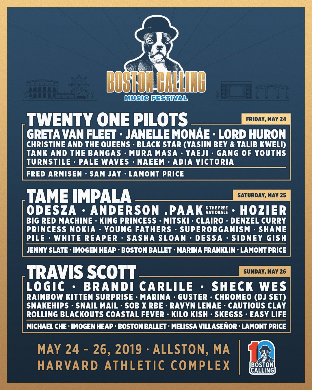 Boston Calling 2019 lineup