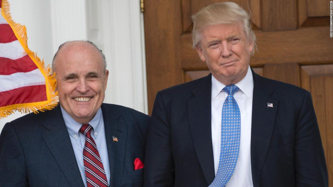 Rudy Giuliani can't get his story straight about Trump Tower Moscow | Analysis by CNN's Chris Cillizza https://t.co/q0JLqgTlxh