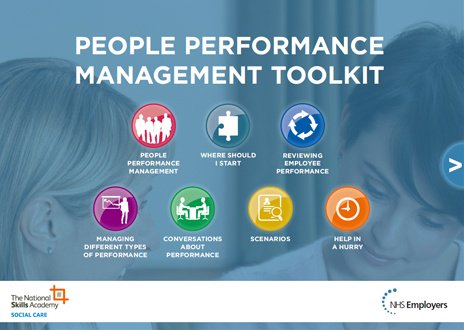 Whether you're a new or experienced #NHS #manager, our people performance management toolkit can help you have meaningful conversations about performance with your staff: https://t.co/Iyi0t3O2xS