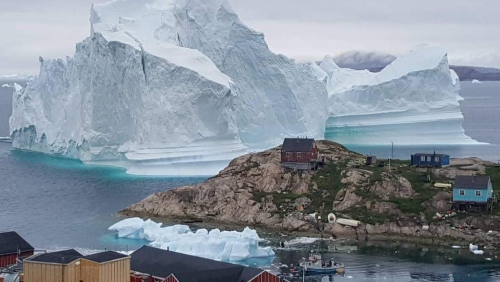 La fonte des glaces au Groenland multipliée par quatre en dix ans https://t.co/GMkc9lYTrY