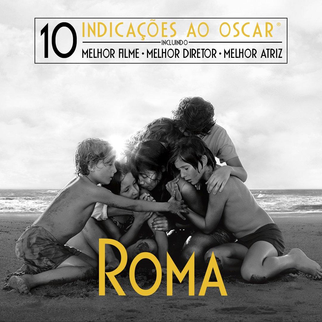 Roma acabou de receber 10 (DEZ! DEZ!) indicações pro Oscar e pra comemorar eu vou listar aqui os motivos pra vocês assistirem a esse filme hoje! Segue a thread.