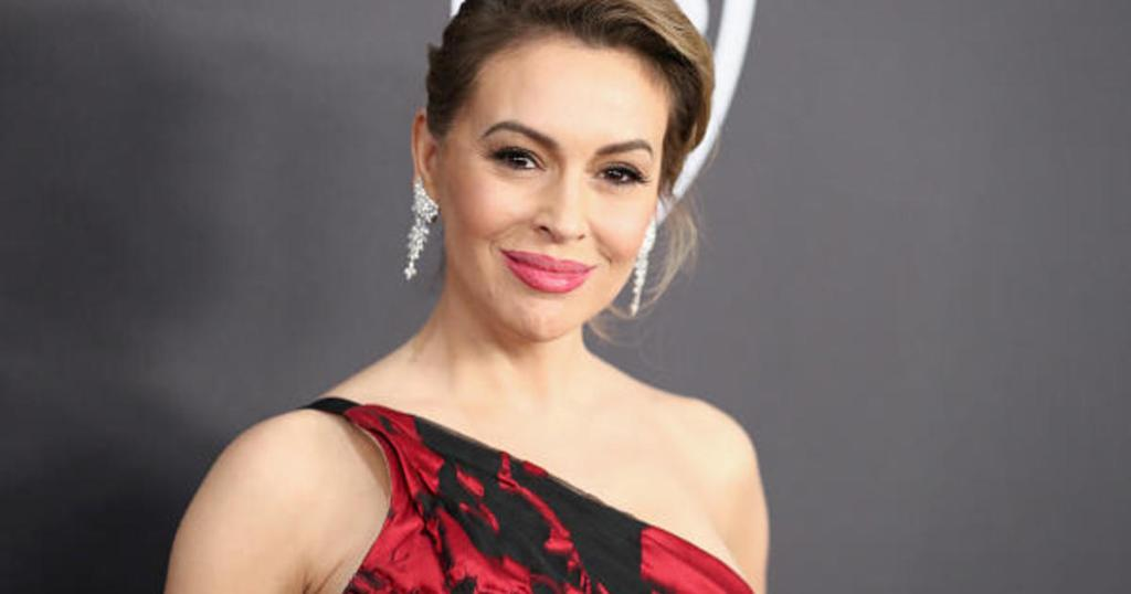 'The red MAGA hat is the new white hood': Alyssa Milano appeared to draw a parallel between Trump supporters who wear red hats marked with the president's campaign slogan 'Make America Great Again' and KKK members who don white hoods https://t.co/NePDLxE1Jn