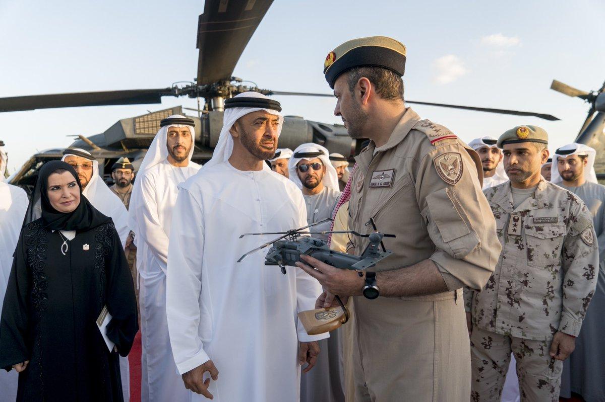 تعرف على مروحيه Black Hawk المطوره في دولة الامارات العربيه المتحده  DxhhZAdXQAELhHr
