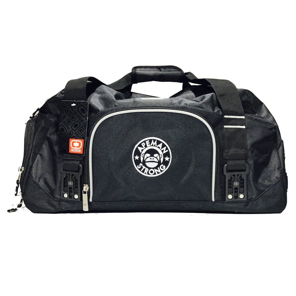 Gym bags are fully stocked. apemanstrong.com/bags/