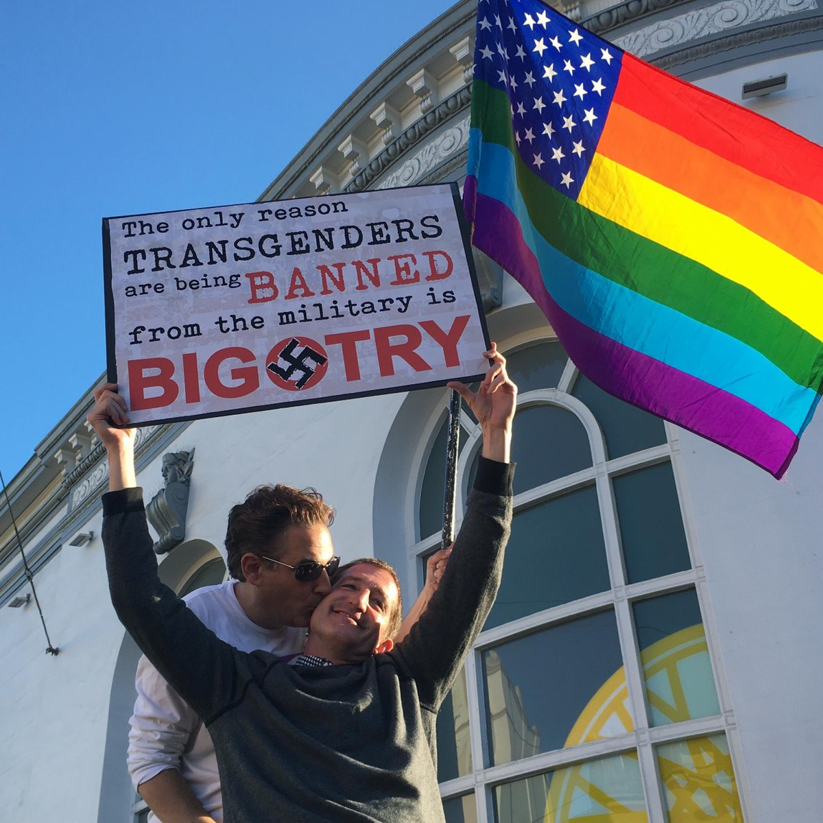 BREAKING: Transgender Americans are now banned from serving in the military.  The Supreme Court is letting the Trump admin's ban go into effect while appeals are heard in the lower courts.