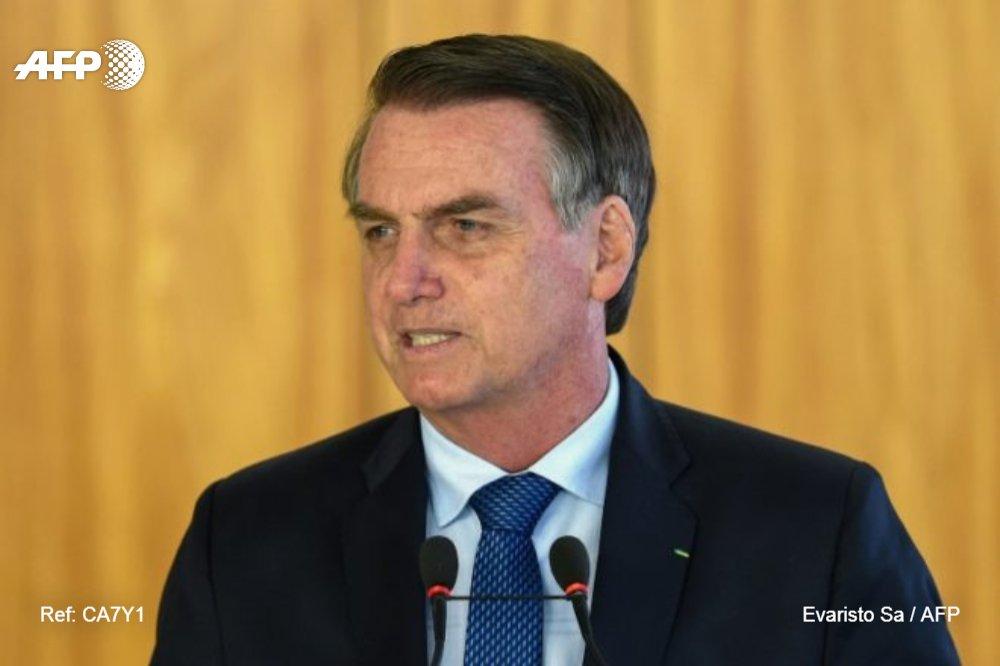 #ÚLTIMAHORA Bolsonaro dice que América Latina ya no será de izquierda #AFP