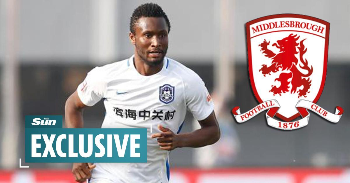 John Obi Mikel undergoing medical at Middlesbrough  https://t.co/ZlwR3uI69m