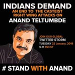 #StandWithAnand Twitter Photo