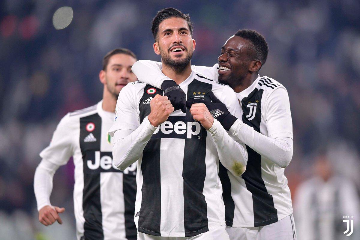 Quando segni il tuo primo gol Bianconero 💪👆😄  Come avete esultato alla rete di @emrecan_? ⚪️⚫️