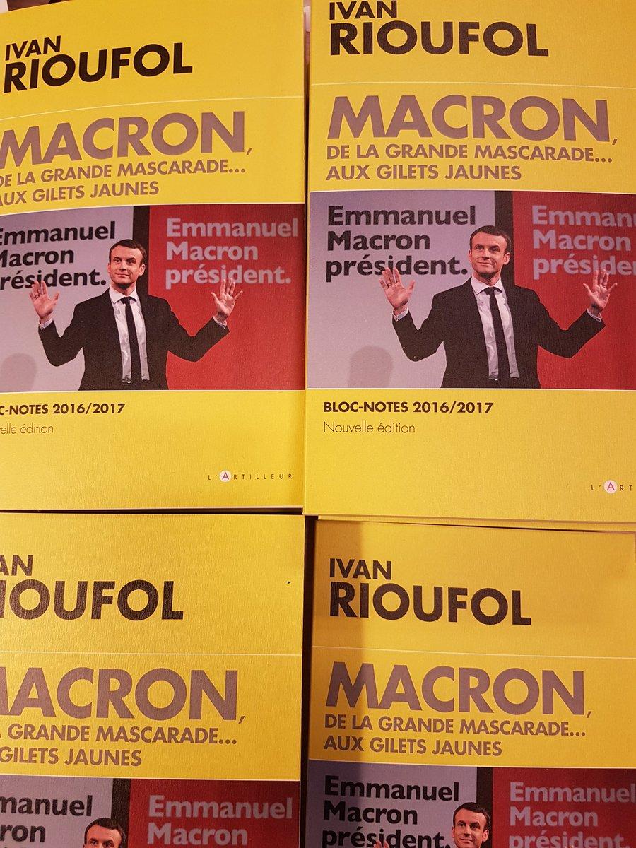 Sortie le 24 janvier : Macron, de la grande mascarade...aux Gilets jaunes (nouvelle édition mise à jour) @editiondutoucan