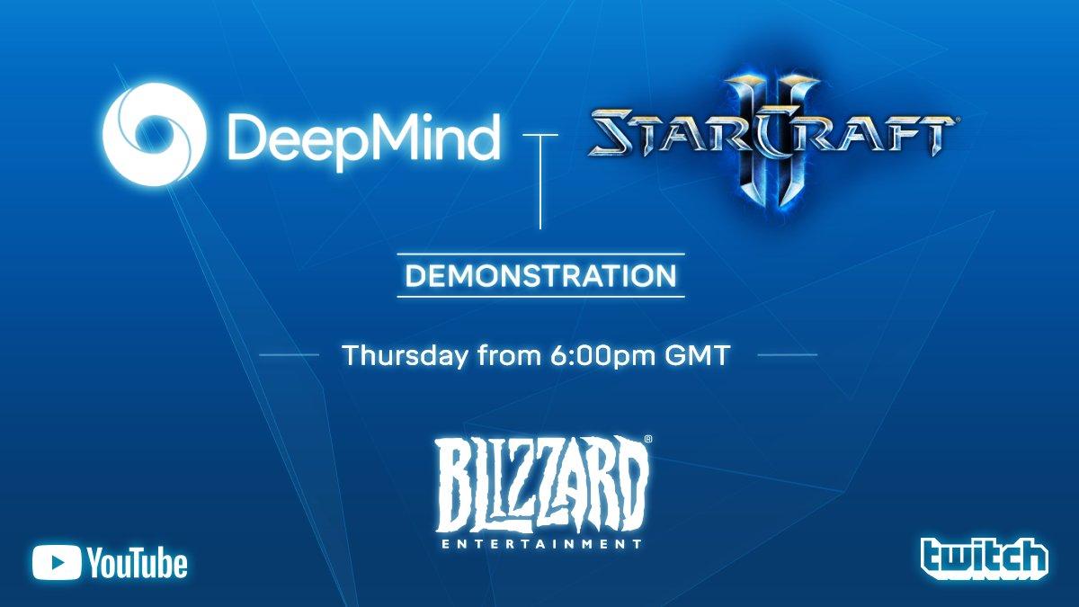 DeepMind demo 2019