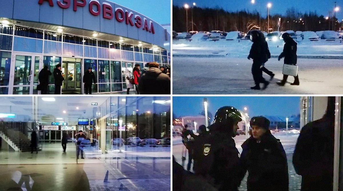 Опубликовано видео задержания «захватчика» самолета Сургут–Москва https://t.co/szr78gyN2R