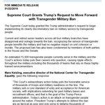 #TransMilitaryBan Twitter Photo