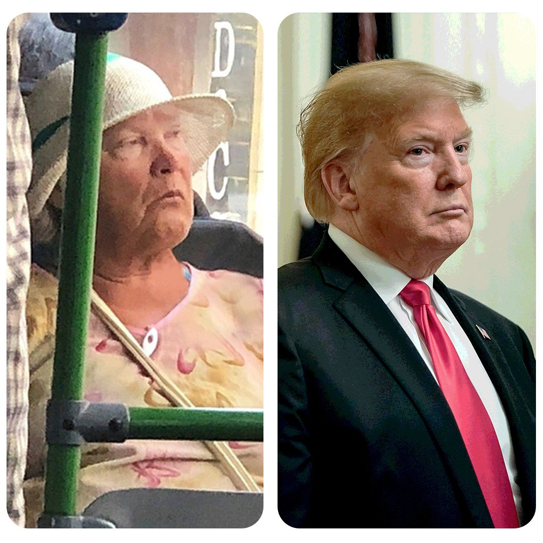 #Trump doppelganger spotted in Russia https://www.instagram.com/p/Bs8T4nOhvDP/?utm_source=ig_share_sheet&igshid=1xgch3ju2y2mm …
