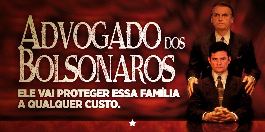 Ao se omitir de comentar o caso Queiroz-Bolsonaro, Moro assume papel de 'advogado' da família e faz vista grossa até para o escândalo do clã com milicianos. https://t.co/GxBUCVN8hO