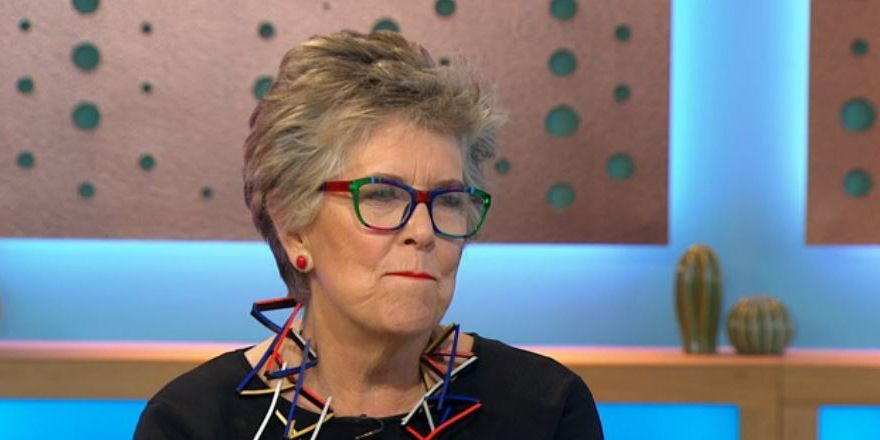 24949e0557 The Great British Bake Off judge Prue Leith can t hide her upset as the