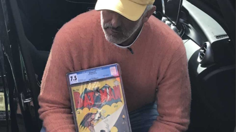 Boca Raton man wants stolen comic books worth more than $1M returned https://t.co/7FVBnG2Lwa