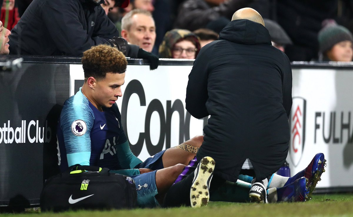 Following scans and clinical assessment, we can confirm that @Dele_Alli has suffered a hamstring strain, sustained during Sunday's match.   Dele will now undergo a period of rehabilitation with our medical staff, with the expectation of returning to training in early March.