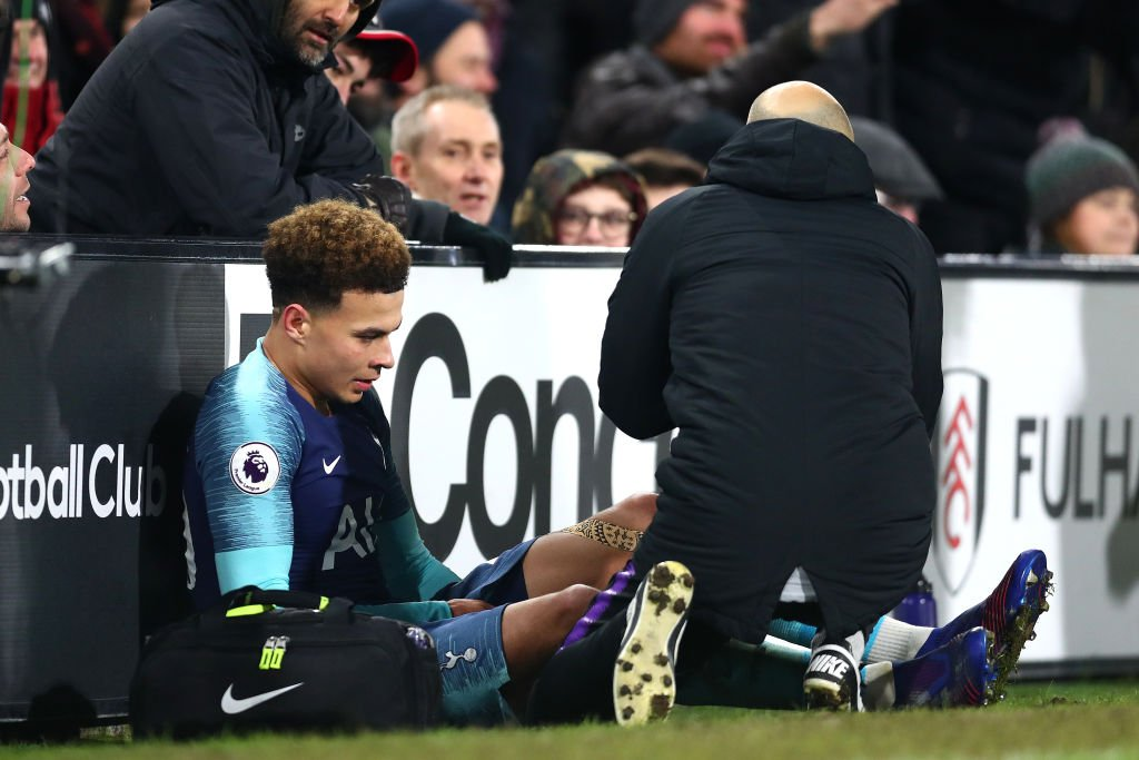 BREAKING: Tottenham midfielder Dele Alli has been ruled out until March with the hamstring injury he suffered against Fulham on Sunday. #SSN  https://t.co/SpJTs558mD