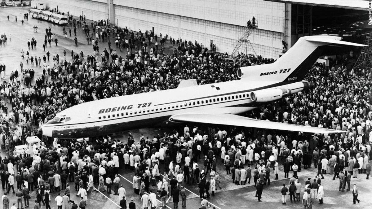 Boeing's famous trijet 727 makes its last commercial flight https://t.co/0HbeTkC2rR