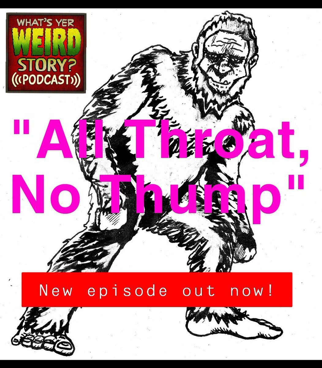 What's Yer Weird Story Podcast on Twitter:
