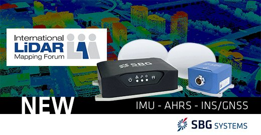 Visit SBG Systems booth #413 next week during #ILMF19 show to discover our new Navsight Land/Air Solution. This full high performance INS is designed to make #surveyors mobile data collection easier --> http://bit.ly/2CyUlKC @LiDARforum #lidar