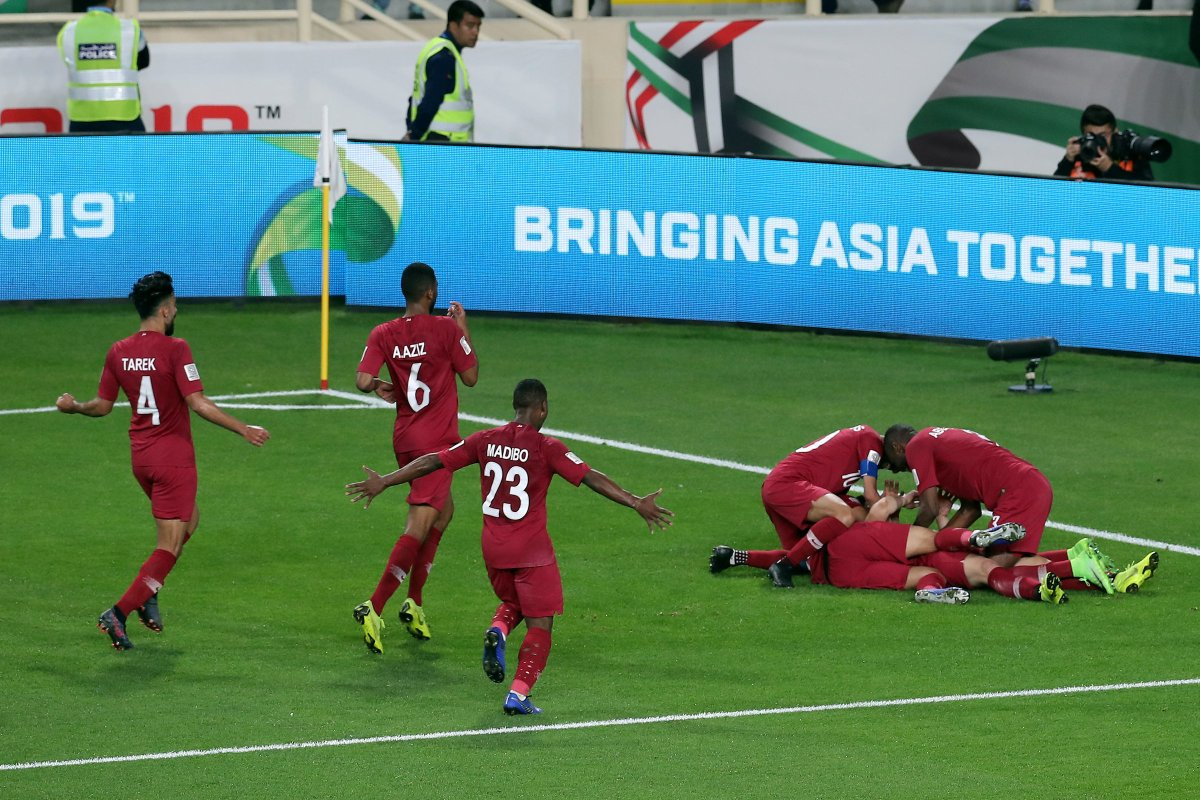 هدف قطر في مرمى العراق بكأس آسيا 2019