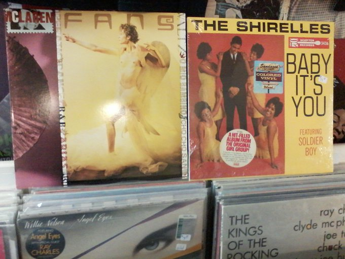 """Happy Birthday to the late Malcolm McLaren & the late Addie \""""Micki\"""" Harris of the Shirelles"""