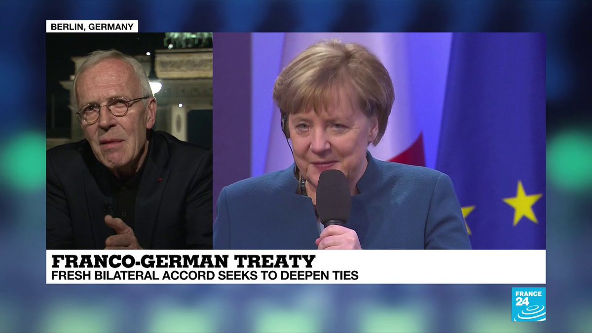 ▶️ Franco-German Treaty: 'We can win back sovereignty with better co-operation' https://t.co/OwSPpxGWVx