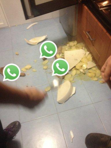 Nos acabamos de quedar sin WhatsApp