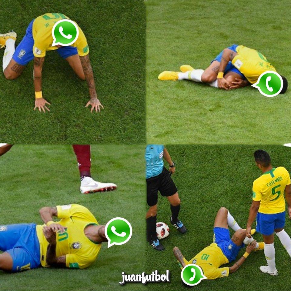 Bueno así las cosas con #WhatsApp, que raroooo haciendo el #Neymarchallenge