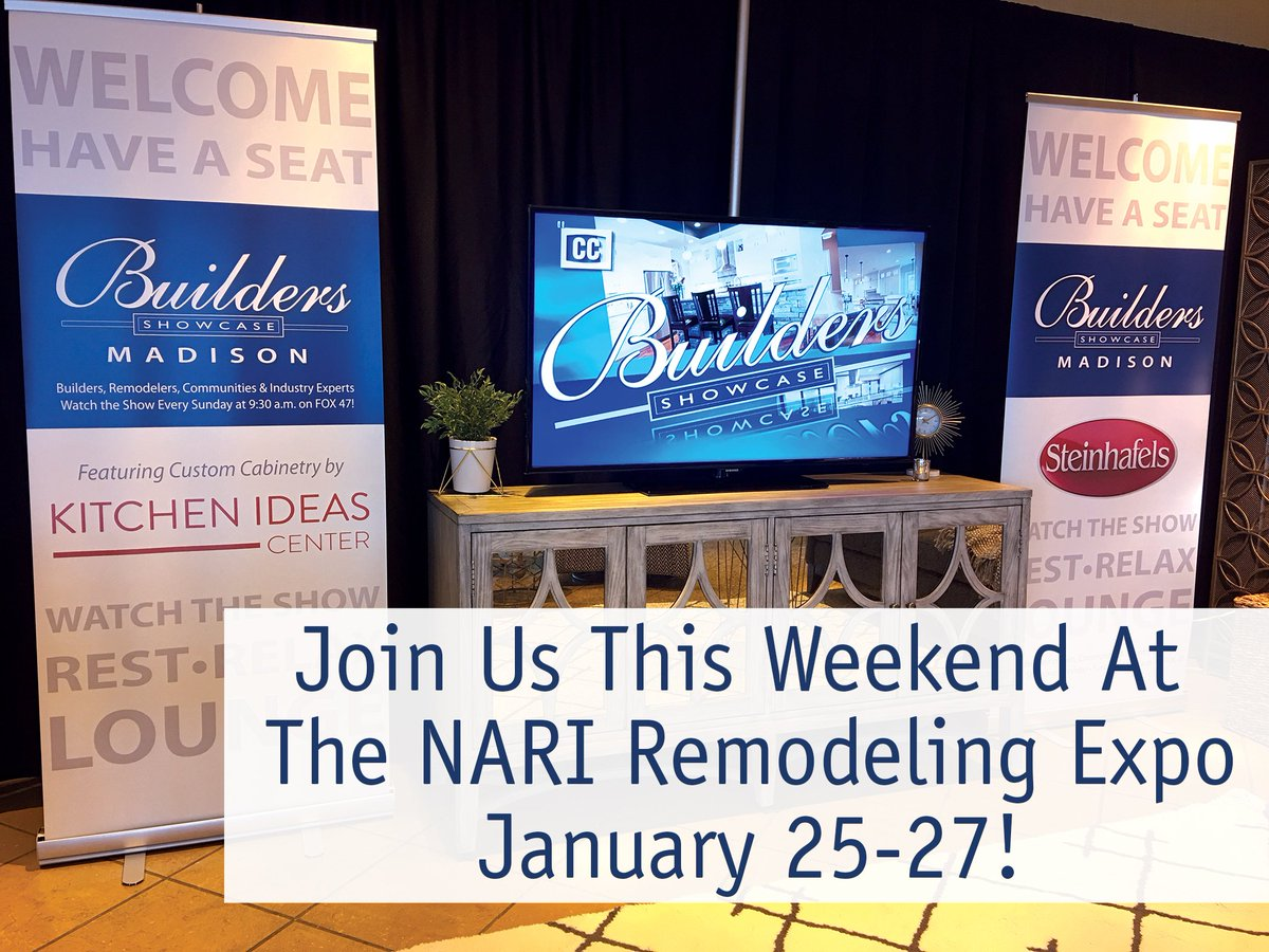 Buildersshowmadison On Twitter Don T Miss The Narimadison