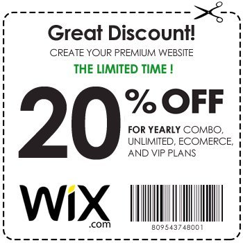 wix coupon code 2019 uk