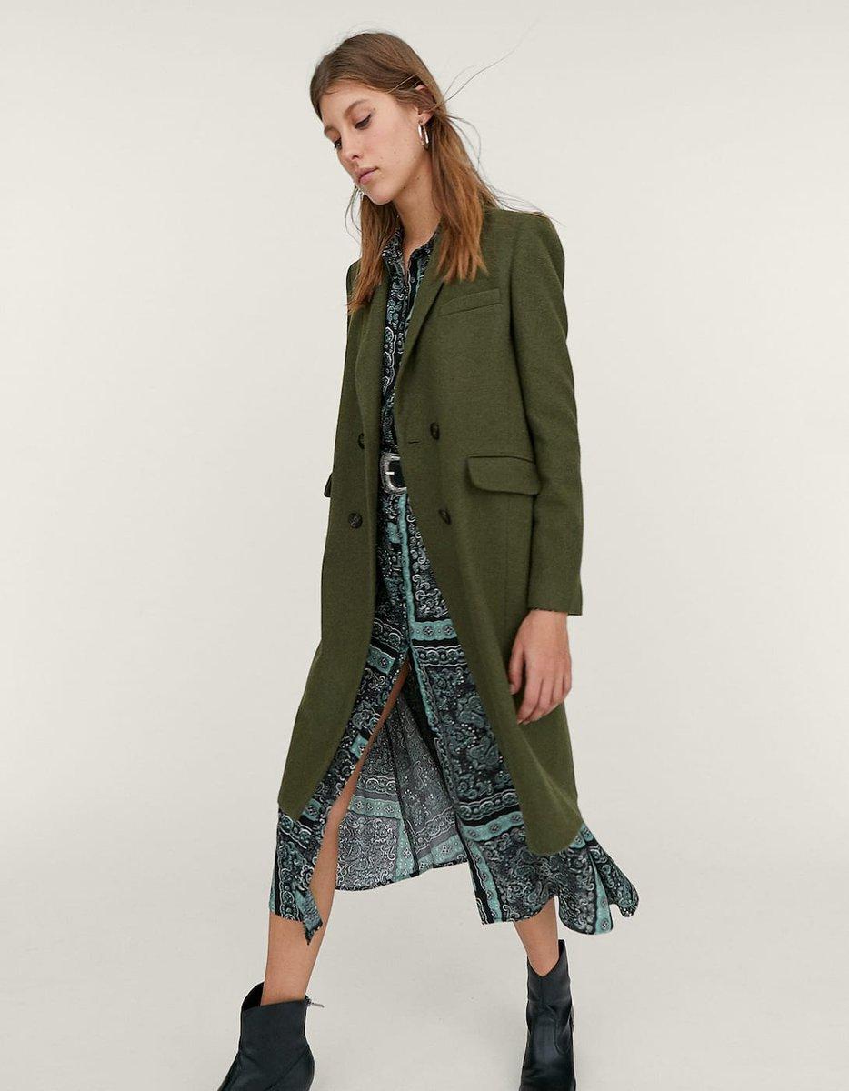 ae97b76d7f32 Este abrigo de  stradivarius es el más bonito de nueva temporada que hay en  el