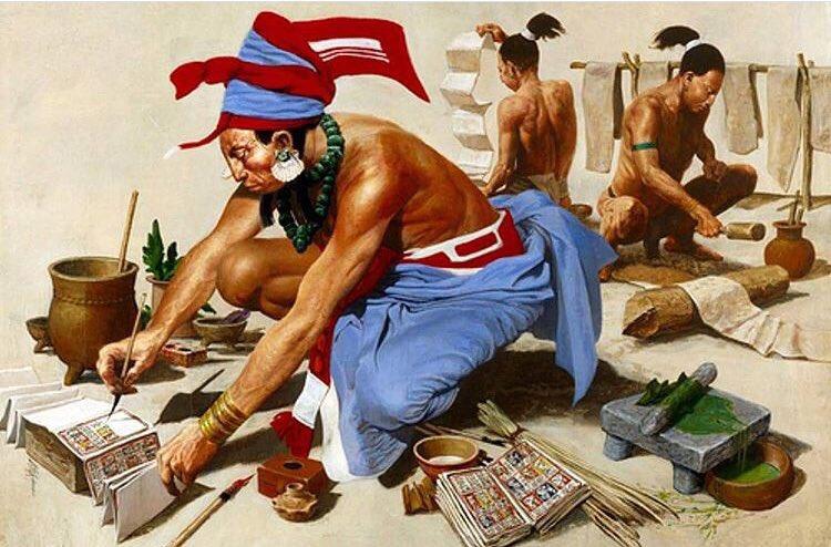 Los códices mesoamericanos se dividen en precortesianos,antes de la irrupción europea y postcortesianos, después. Eran realizados sobre pasta molida del ficus amate o sobre piel de algún mamífero como venado.Después se les colocaban estuco que quedaran blancos y se pudiera pintar