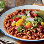 Image for the Tweet beginning: This No-Fuss Slow Cooker Chili