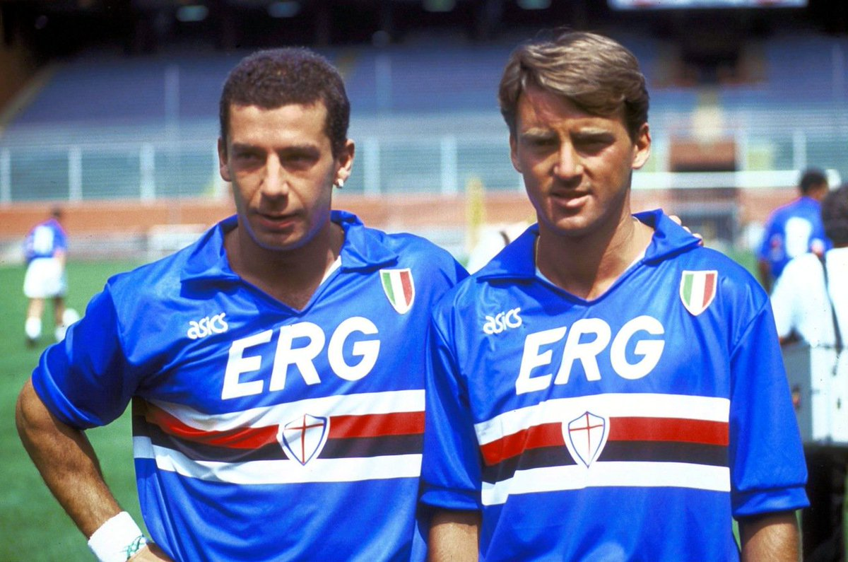 e1d33f9d708226 Sampdoria won their first ever Serie A title in the 1991/92 season and it  was largely down to 'terrible twins' up front – Gianluca Vialli and Roberto  ...